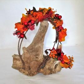 Sere tête fleurs stabilisées colorées