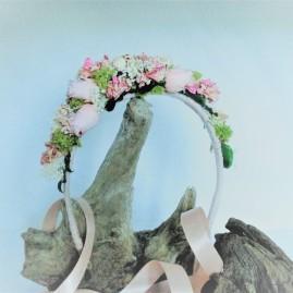couronne fleurs permanentes