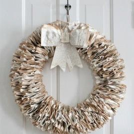 Couronne papier recyclé