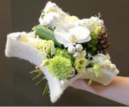 """Bouquet """"etoile de laine"""""""