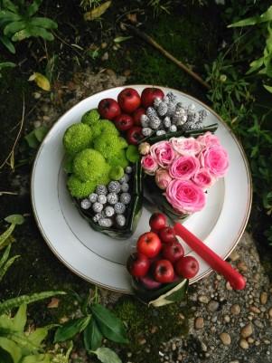 atelier Gateau de fleurs