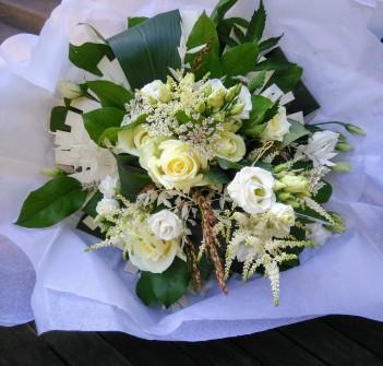 Bouquet étoile blanche