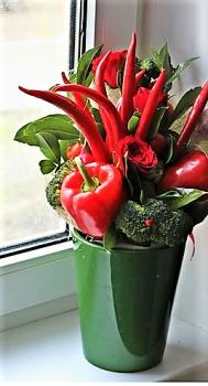 Atelier apéro floral pimenté