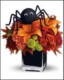 atelier HalloweenArachnide fleurie
