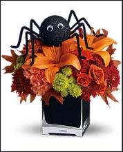 Atelier Halloween Arachnide fleurie